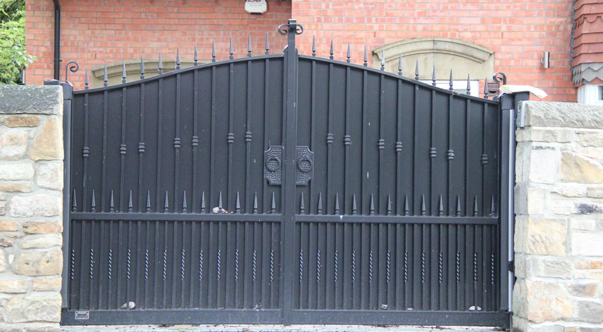 Steel Sliding Gate 1