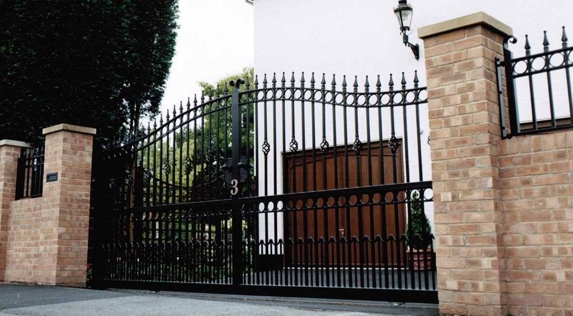 Steel Sliding Gate 2