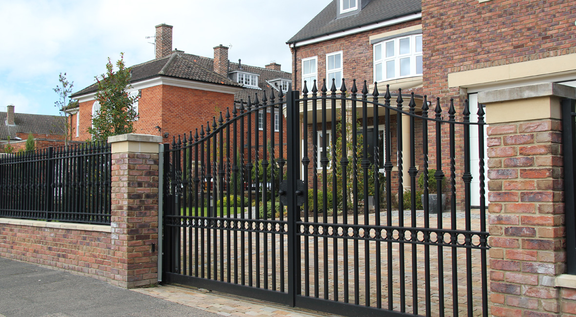 Steel Sliding Gate 3