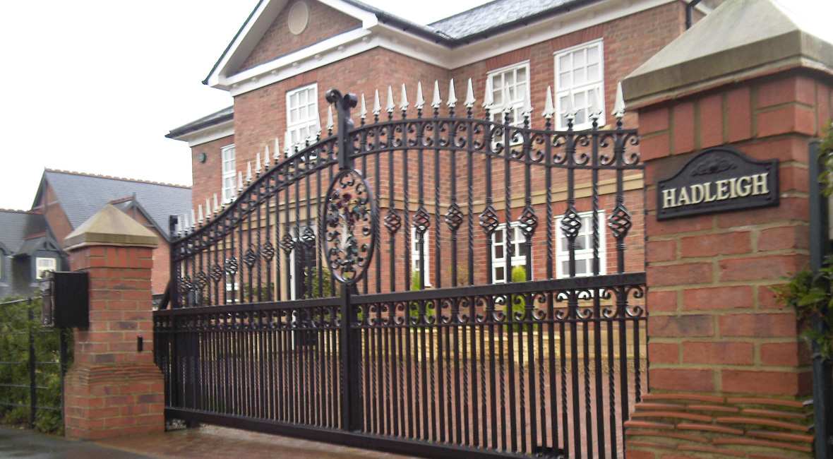 Steel Sliding Gate 7
