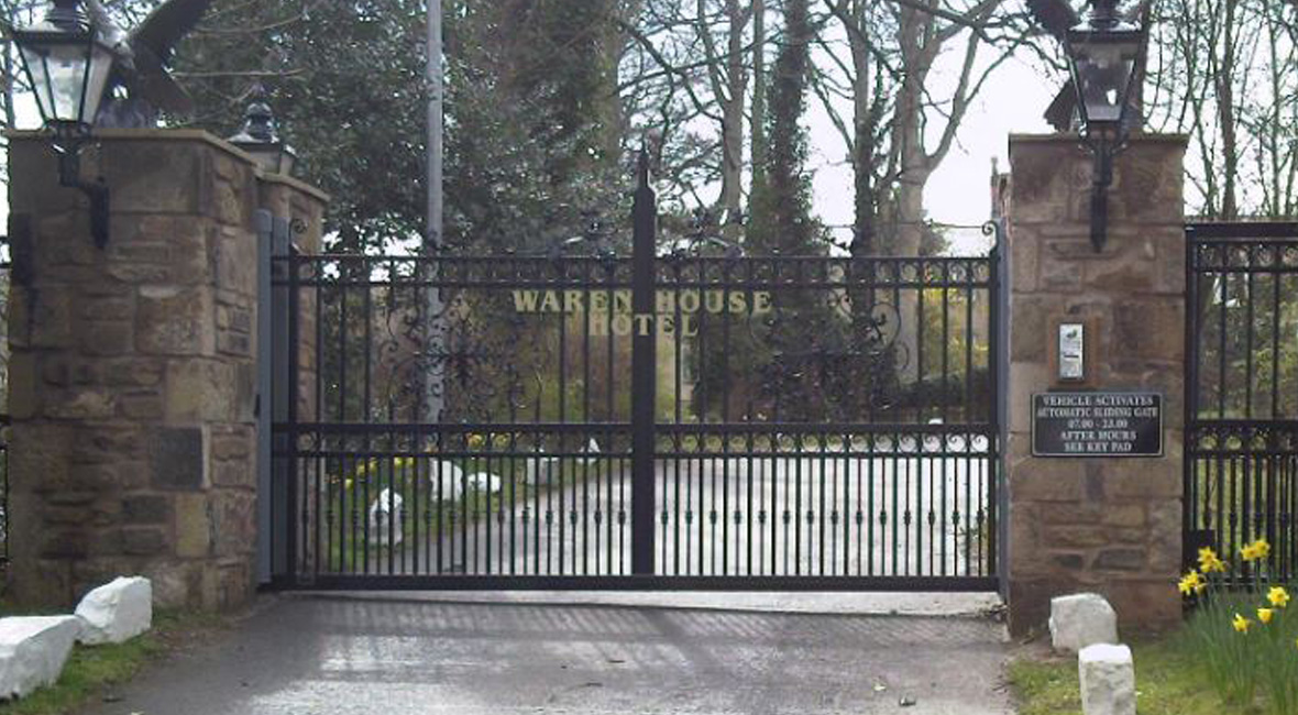 Steel Sliding Gate 12
