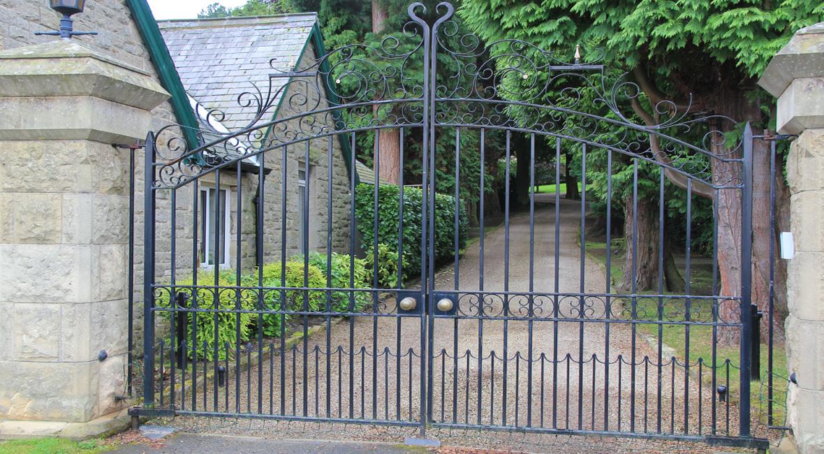 Steel Sliding Gate 14