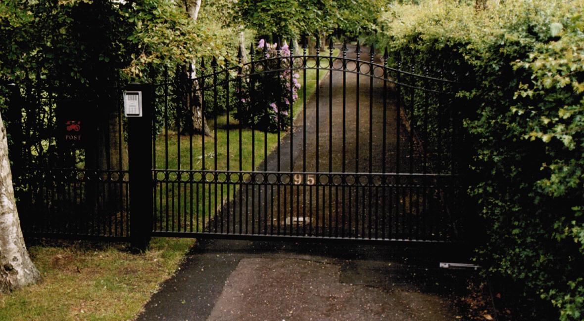 Steel Sliding Gate 17