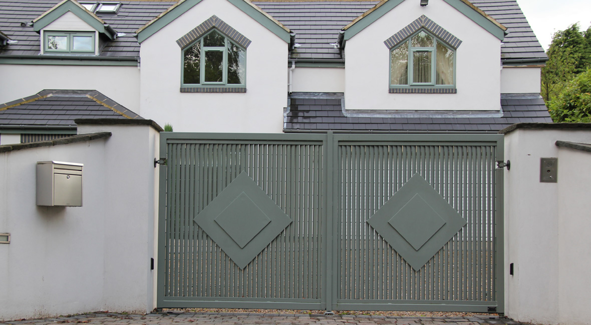 Steel Sliding Gate 22