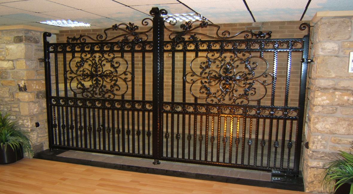 Steel Swing Gate 1