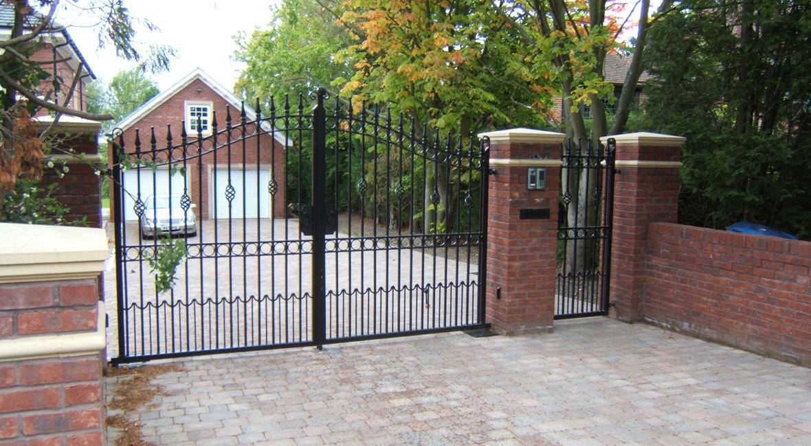 Steel Swing Gate 3