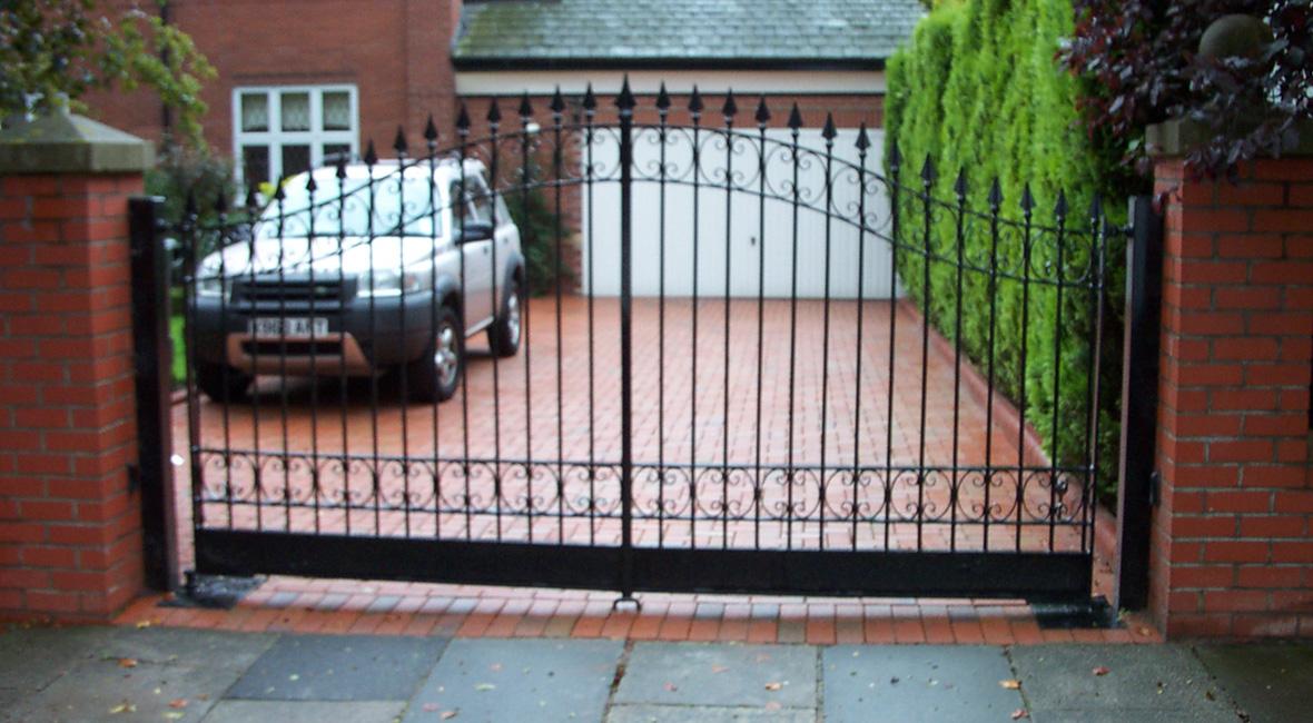 Steel Swing Gate 6