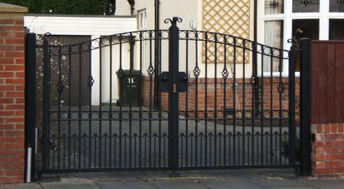 Steel Swing Gate 9