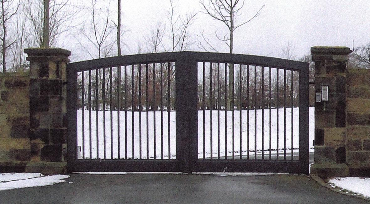 Steel Swing Gate 10