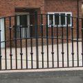 Steel Swing Gate 11