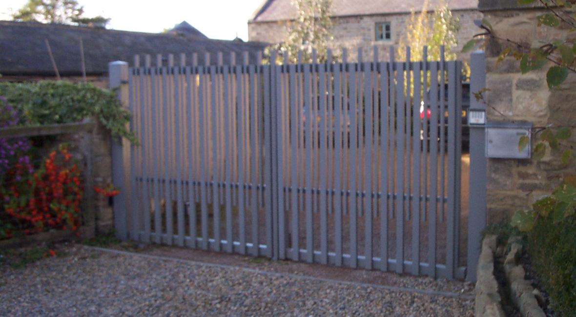 Steel Swing Gate 14