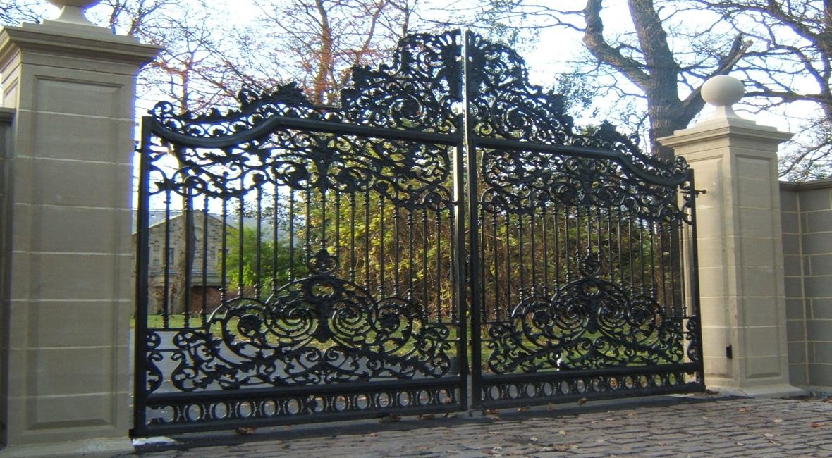 Steel Swing Gate 16