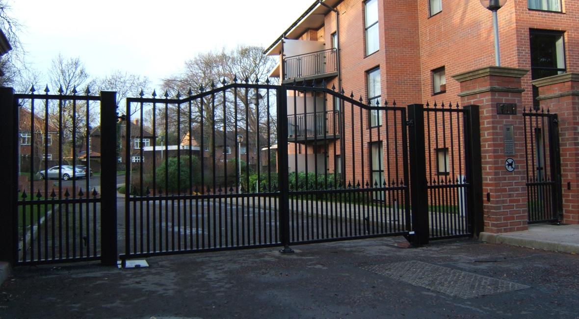 Steel Swing Gate 21