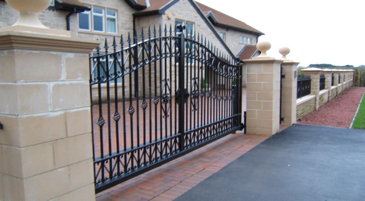Steel Swing Gate 24