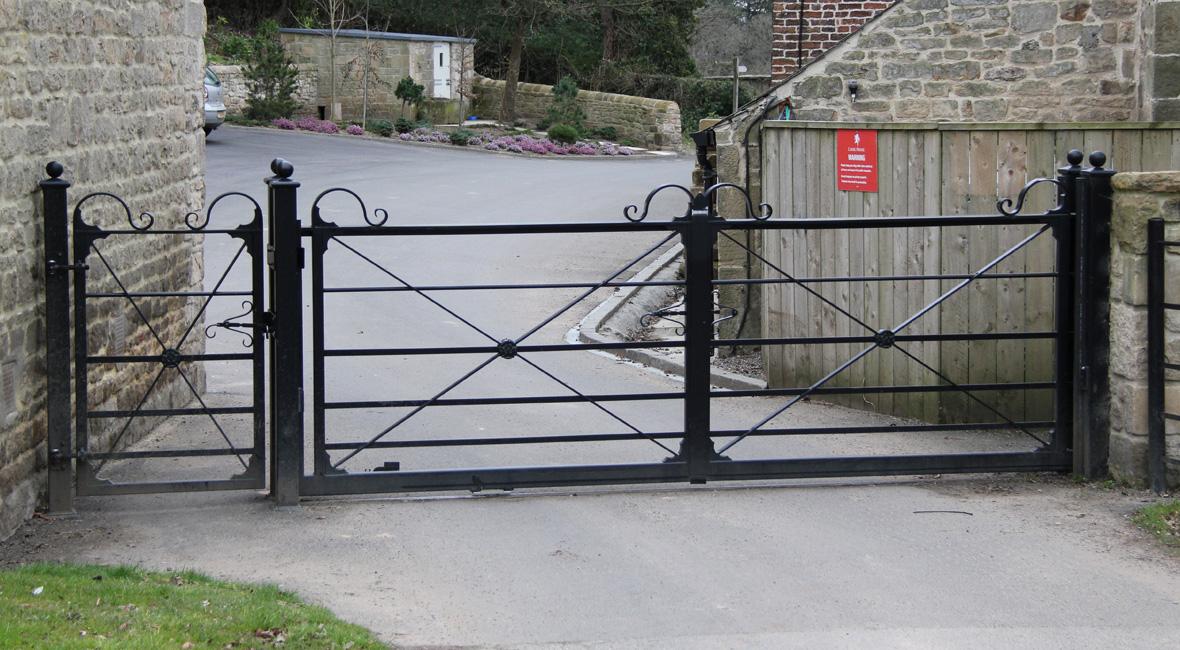 Steel Swing Gate 31