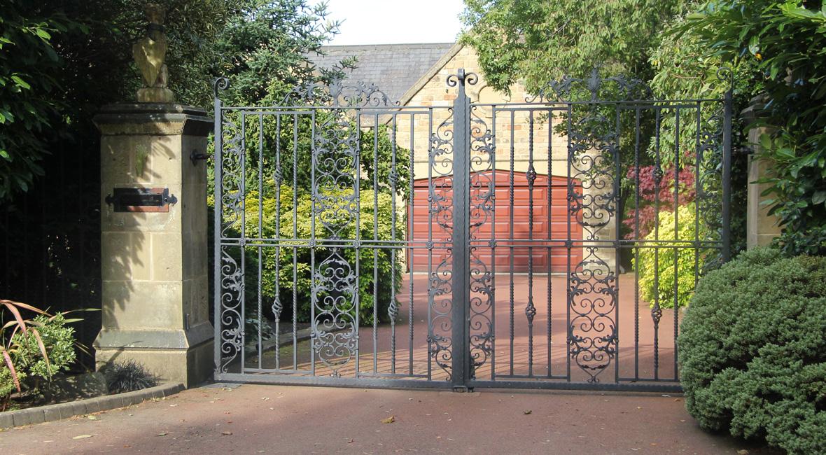 Steel Swing Gate 34