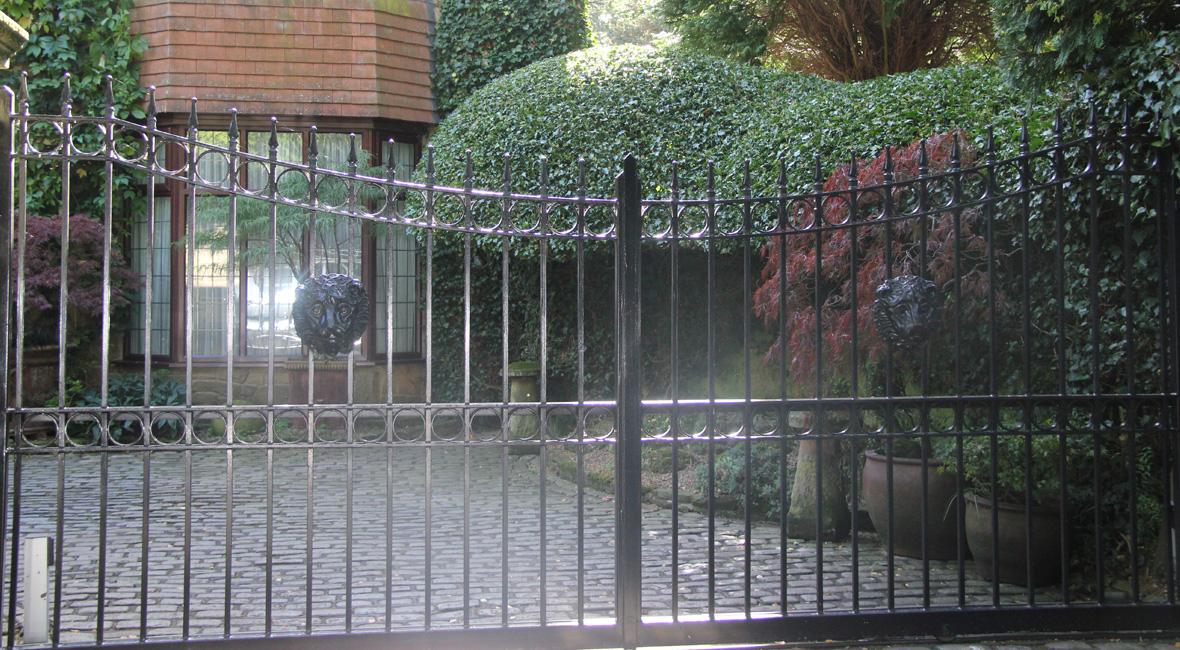 Steel Swing Gate 37