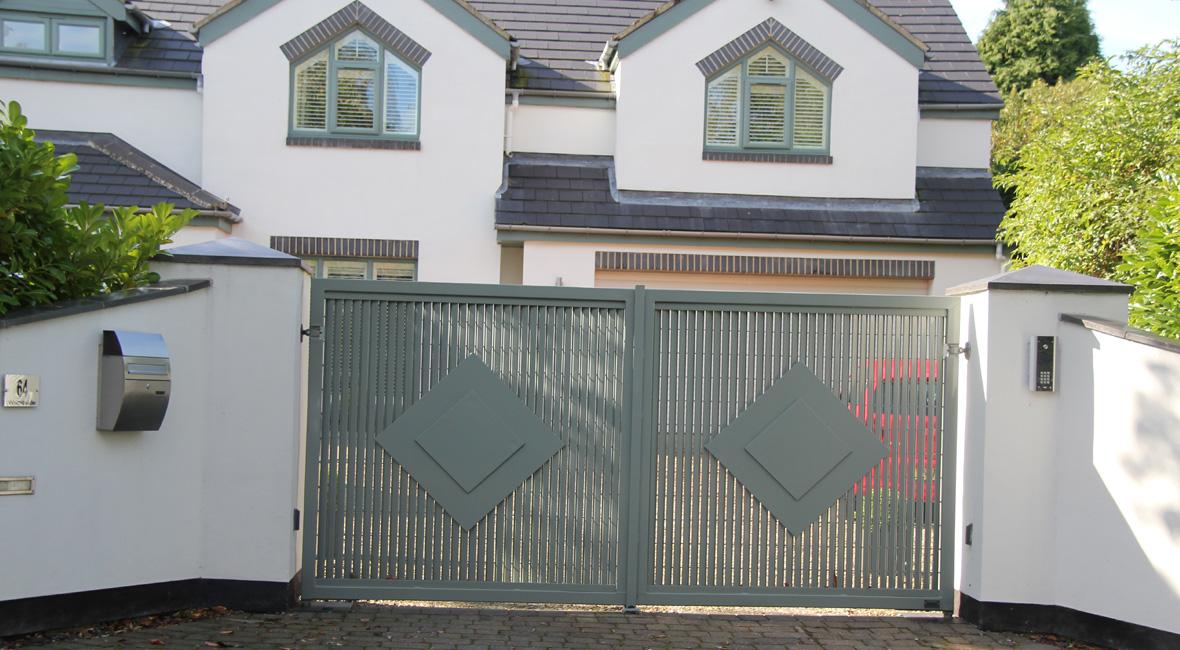 Steel Swing Gate 38