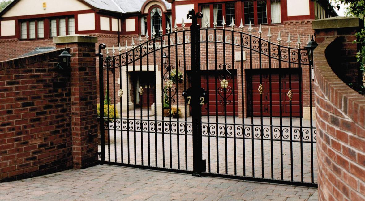 Steel Swing Gate 44