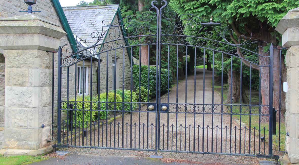 Steel Swing Gate 47