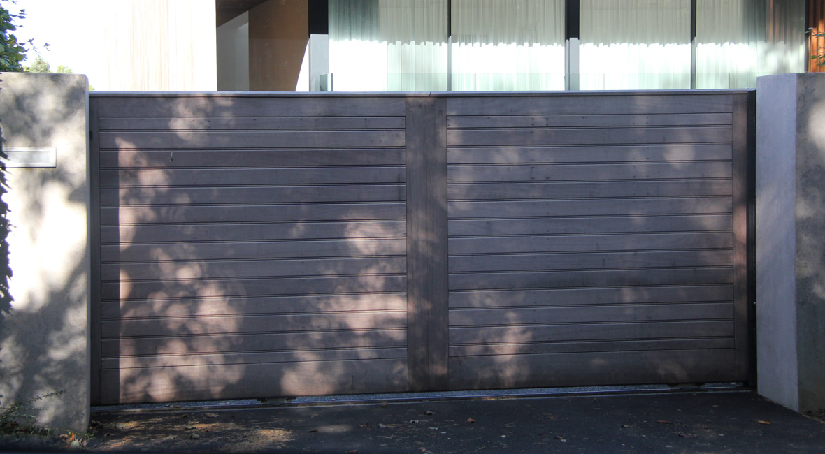 Wooden Sliding Gate 10