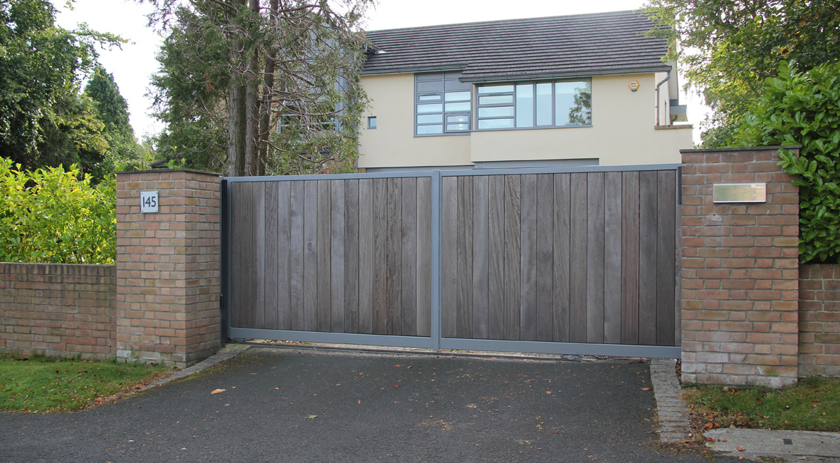 Wooden Sliding Gate 11
