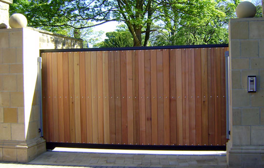 Wooden Sliding Gates Manufacturer From Chennai: Prime Security Gate Automation